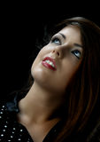 женщина красивейших взглядов верхняя Стоковое Фото