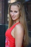 женщина красивейших волос длинняя стоковое изображение rf