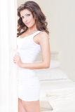 Женщина красоты с длинными волосами Стоковое Фото