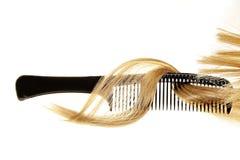 Женщина красоты с длинными здоровыми и сияющими ровными черными волосами стоковая фотография rf