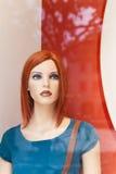 женщина куклы дисплея Стоковая Фотография RF