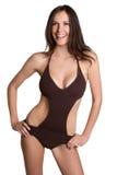 женщина купального костюма стоковая фотография rf