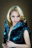 женщина куртки Стоковые Фото