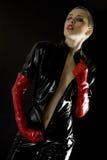 женщина латекса Стоковая Фотография RF