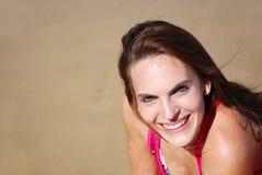 женщина лета усмешки s Стоковая Фотография