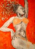 женщина лета Стоковые Изображения RF