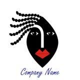 женщина логоса стороны иллюстрация штока