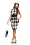 женщина марионетки удерживания куклы Стоковые Фото