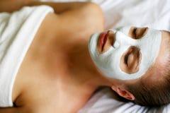 женщина маски Стоковые Фотографии RF