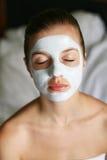 женщина маски Стоковая Фотография RF