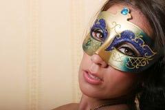 женщина маски Стоковое фото RF