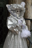 женщина маски costume Стоковые Изображения
