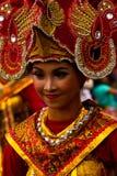 Женщина масленицы Malang, Индонезии стоковые фото