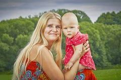 женщина малыша Стоковое Изображение RF