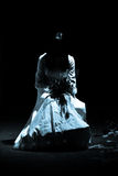 женщина места ужаса страшная Стоковое Фото