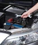 Женщина механика автомобиля Стоковая Фотография RF