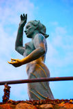 Женщина моря в Lloret de mar Mujer Marinera Стоковые Фотографии RF