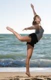 женщина моря красотки Стоковые Изображения