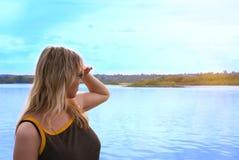 женщина моря Стоковое фото RF