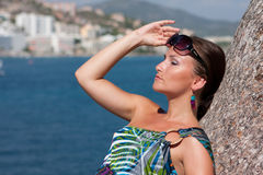 женщина моря Стоковые Фото