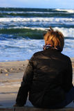 женщина моря Стоковые Фотографии RF