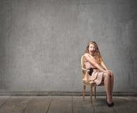 Женщина моды Стоковое Изображение RF