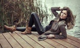 Женщина моды Стоковые Изображения