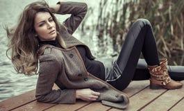 Женщина моды Стоковые Фото