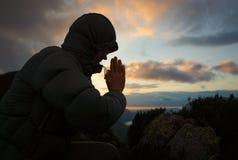 Молить женщины стоковые фотографии rf