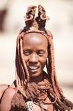 женщина Намибии himba Стоковые Изображения