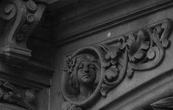 Женщина на угле Стоковые Фотографии RF