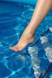 женщина ноги Стоковые Фотографии RF