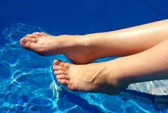 женщина ноги Стоковая Фотография RF