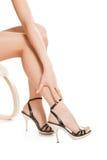 женщина ног сексуальная Стоковые Изображения