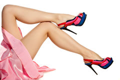 женщина ног Стоковая Фотография