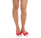 женщина ног стоковое изображение