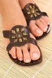 женщина ног Стоковое Изображение RF