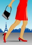 женщина ног Стоковые Фото