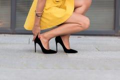 женщина ног s Стоковое Изображение RF