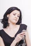 женщина нот Стоковая Фотография
