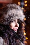 женщина ночи города Стоковое фото RF