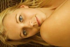 женщина обнажённого Стоковое Изображение RF
