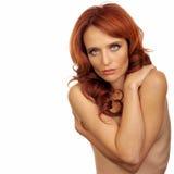 женщина обнажённого Стоковое Фото