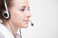 Женщина обслуживания клиента Стоковые Фото