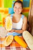 женщина овоща сердцевины Стоковая Фотография RF