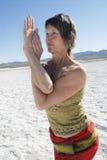 женщина орла Стоковое Изображение