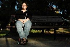 женщина осени Стоковые Фото