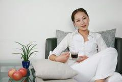 женщина отдыха Стоковая Фотография RF