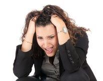женщина отказа дела Стоковые Фотографии RF