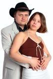 женщина отношения человека пар Стоковое Фото